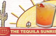 How To Make A Tequila Sunrise Cocktail Recipe-Drinks Made Easy